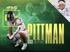 Oregon College Football Recruiting, Oregon, Sports Graphic Design, Sports Graphics, Football Photos, Trends 2018, Picture Poses, Athletics, Layouts