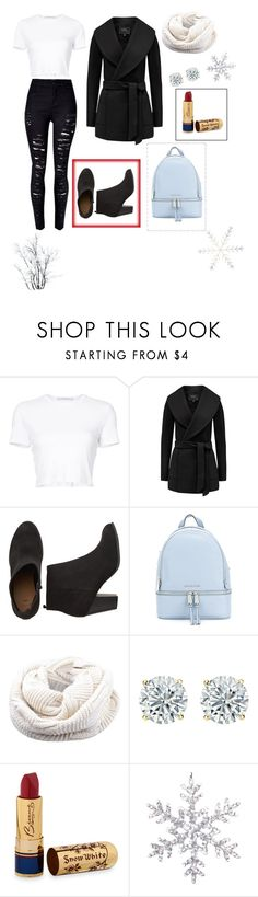 """""""WINTER 2K18"""" by wendyfashion on Polyvore featuring Rosetta Getty, MICHAEL Michael Kors and Bésame"""