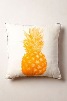 Pineapple Print Pillow #Anthropologie #Pin to Win
