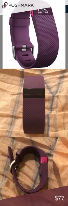 Activity Bracelets Fitness - Activity Bracelets Fitness - Fitbit Charge/HRActivity Tracker Heart Rate Plum Fiance bought for me. I dont wear things. I even returned Apple watch the next day. Wore twice maybe. Less than a year old if that. I have to find charger. Best buy sells for 19.99 The Fit Bit 130.00 Fit Bit Accessories - The benefits of wearing these smart bracelets are not only in your comfort, but also in that they are able to control all your physical progress - The benefits o...