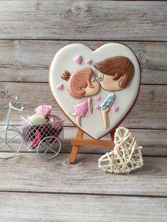 Valentine Cookies, Cupcake Cookies, Sugar Cookies, Valentines Day, Cookie Monster, Chocolate, Baking, Crafts, Biscuits