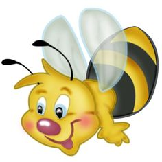 Cartoon Bugs Clip Art | Cartoon Insect Baby Bees Clip Art Images