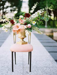 Peach, burgundy, blush, and white with variegated greenery