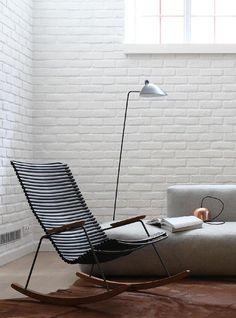 Modern Rocking Chair//