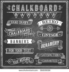 Chalkboard Stockfoto's, afbeeldingen & plaatjes | Shutterstock