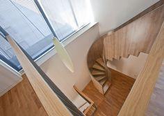 Daniel Valle Architect separates adults from children inside Hernandez Residence in Madrid.
