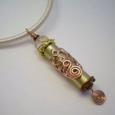Bullet Shell Casing Necklace |