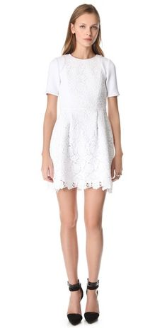 Tibi Sigrid Lace Dress Prova Generale Vestito 681788f4fa64