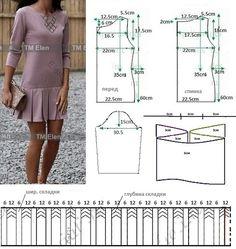 Простые выкройки летних платьев 4