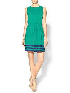 Pim + Larkin Border Stripe Dress | Piperlime  potential dress for one of the weddings this year??
