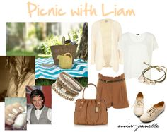 """""""Picnic with Liam"""" by miss-janelle ❤ liked on Polyvore"""