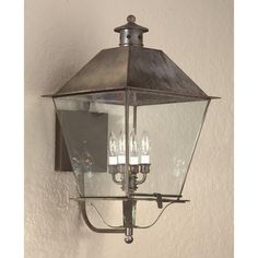 Troy Lighting - B9140 - Montgomery - Four Light Outdoor Large Wall Lantern