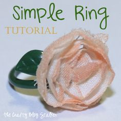 Simple Ring Tutorial