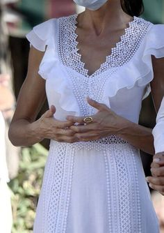 Modest Wedding, Wedding Wear, Style Icons Inspiration, Charo Ruiz, Princess Of Spain, Carrie White, Spanish Royalty, Overalls Fashion, Kate Middleton