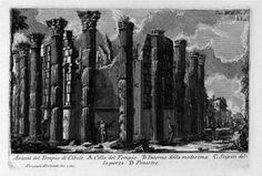 The Roman antiquities, t. 1, Plate XXII. Temple of Cybele. - Giovanni Battista Piranesi