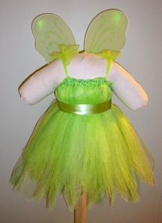 Tinkerbell Inspired Halloween Tutu Costume by TinyToesNTutus, $43.00