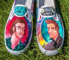 Supernatural Shoes (Sam and Dean Winchester)