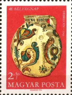 Stamp%3A%20Ceramics%20(Hungary)%20Mi%3AHU%202450A%20%23colnect%20%23collection%20%23stamps