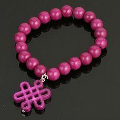 Stretch Infinity Knot Braclet. www.shazbamdecor.com Stretches, Knots, Infinity, Bracelets, Jewelry, Bangles, Jewellery Making, Jewels, Knot