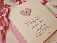 Wedding Order of Service Booklets in Dusky Pink and Green - perfect for summer weddings www.ohsopurrfect.co.uk