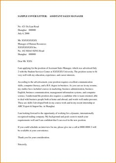 The Cover Letter That Goes With Your Resume  Job Resume Cover