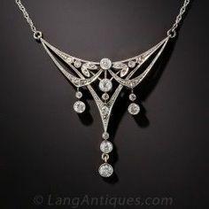 Edwardian Diamond Necklace - Archive