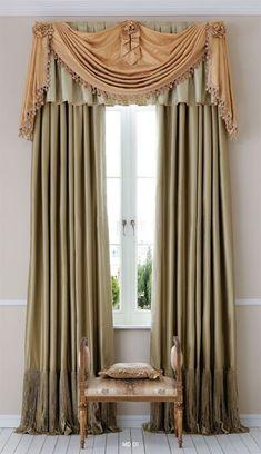 Elegant window treatment www.normandeauwc.com