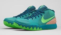 newest collection 0f32a 10531 NEW Nike Kyrie 1 Australia Teal Green Emerald Radiant 705277-333 Dream SZ  10.5