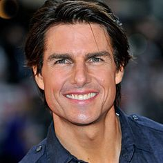 Tom Cruise - Okay, I know I'm probably in the minority, but he is my fave. Look…