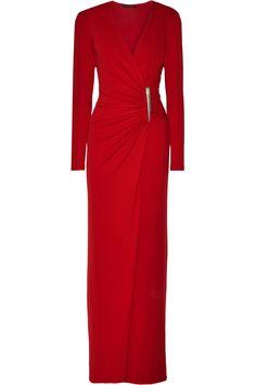 Donna Karan New YorkRuched stretch-jersey gown