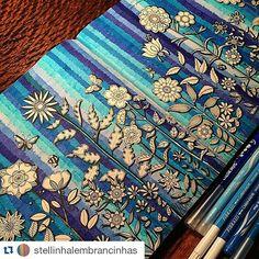 #Repost @stellinhalembrancinhas ・・・ #johannabasford #jardimsecreto #jardimsecretotop #jardimsecretofans #colouringbook #coloringbook #livrocoloriamo #jardimsecreto_brasil #carandache #maped #coloriage #coloriageantistress #coloriagepouradultes #nossojardimsecreto #mycolorfulmoment #meujardimsecreto #meulivrointerativo #MonColoriagePourAdultes #kleurboekvoorvolwassenen #florestaEncantada #Minha_FlorestaEncantada