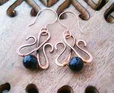 Wire Wrapped Earrings by ~bleek70 on deviantART