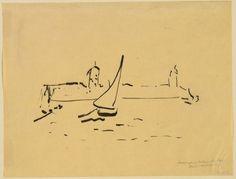 Henri Matisse - Sailboat, 1907