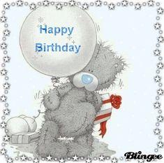 happy first birthday Teddy Bear Images, Teddy Pictures, Bear Pictures, Happy Birthday Me, Birthday Greetings, Teddy Bear Drawing, Blue Nose Friends, Bear Illustration, Tatty Teddy