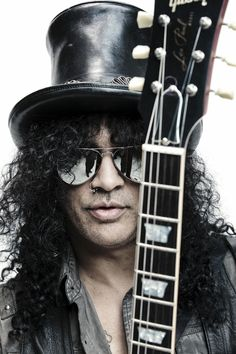 Best known as the former lead guitarist of the famous American hard rock band 'Guns N' Roses', SLASH (Saul Hudson)