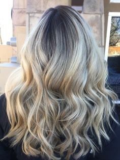 Rooty Blonde Color Melt, Beauty By Allison, Fort Collins Hair, Salon Salon-Fort Collins