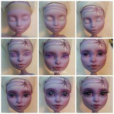 Custom monster high doll by skeriosities twyla oaak repaint