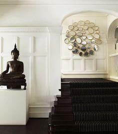 Las figuras de buda no sólo no son una moda pasajera sino que además han conseguido integrarse en espacios de decoración moderna.