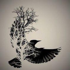 Bildergebnis für norse raven tattoo Bildergebnis für nor… Viking Tattoo Sleeve, Norse Tattoo, Viking Tattoos, Sleeve Tattoos, Yggdrasil Tattoo, Wiccan Tattoos, Inca Tattoo, Tattoo Life, Tattoo Moon