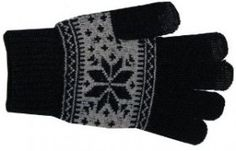 At around $15.00, the black with grey snowflakes model of Boss Tech's Cashmere Knit Touchscreen Gloves are too expensive for basic knit gloves.  That said, the different styles (on Amazon) range in price from $0.29, to $16.63 (with a $19.95 list price!) and there are other Boss Tech options which are more reasonable.