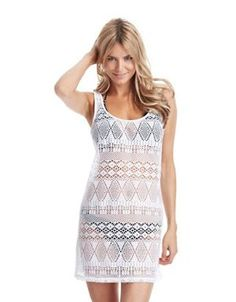 Ralph Lauren Blue Label Crochet Cover Up Swim Dress $87.00 by Lord & Taylor