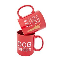 Dog Doesn't Know Mug Red now featured on Fab.