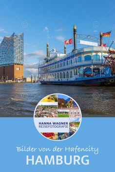 Hafenromantik erwartet Besucher der Hansestadt Hamburg zwischen Landungsbrücken und alter Speicherstadt. Museumsschiffe erinnern an die Zeit, als im Freihafen der Handel mit Kaffee, Tee, Gewürzen und Teppichen aus dem Orient florierte. Die eindrucksvollen roten Backsteinbauten der Speicherstadt, die Ende des 19. Jh. auf Flussinseln der Elbe entstand, ist seit 2015 UNESCO-Weltkulturerbe. #Reisefotografie #Fotografie #HannaWagnerReisefotografie #travelphotography #Hamburg #Elbphilharmonie