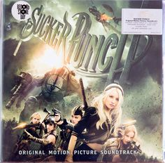 Various - Sucker Punch (Original Motion Picture Soundtrack) Sucker Punch, Tomorrow Never Knows, Skunk Anansie, Alison Mosshart, 9 Songs, Emily Browning, Where Is My Mind, White Rabbits, Suckers