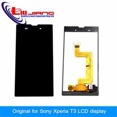 (31.11$)  Watch here - http://aicgp.worlditems.win/all/product.php?id=32417500432 - New Original LCD For Sony Xperia T3 M50W d5102 Display Touch Screen with Digitizer + Glass film gift free shipping