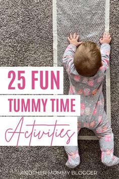 25 Fun Tummy Time Activities For Babies