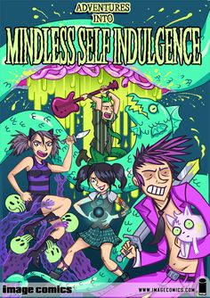 Adventures Into Mindless Self Indulgence - Comics by comiXology Emo Bands, Music Bands, Music Stuff, My Music, Lindsey Way, Mindless Self Indulgence, Emo Scene, Image Comics, Cool Posters