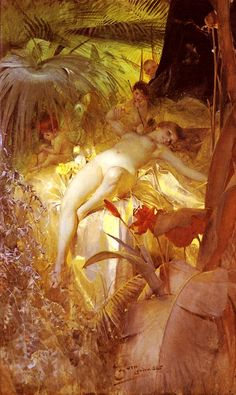 Anders Zorn, A Love Nymph, 1885