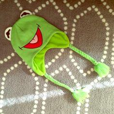 Kermit the frog hat Novelty hat Accessories Hats