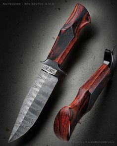 How To Care For Your Survival Knife – Metal Welding Damascus Knife, Damascus Steel, Cool Knives, Knives And Swords, Knife Making Tools, Knife Handle Making, Trench Knife, Knife Art, Best Pocket Knife